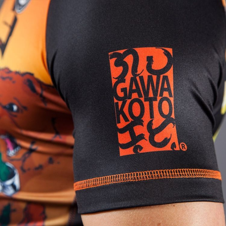 Gawakoto x BJJ Warehouse Let's Roll Rashguard