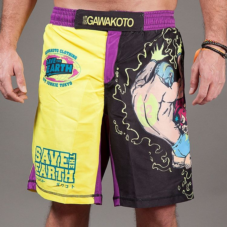 'Save the Earth' MMA & Grappling Shorts