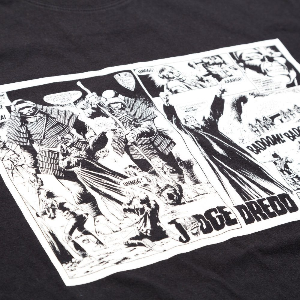 Scramble x Judge Dredd - Samurai T-Shirt