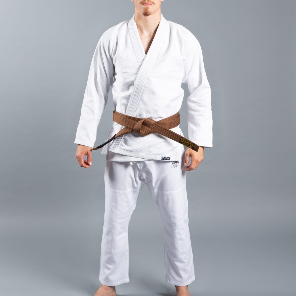 "Scramble ""Standard Issue – Semi Custom"" BJJ Gi - White"
