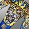 Meerkatsu Fire Tiger Grappling Spats
