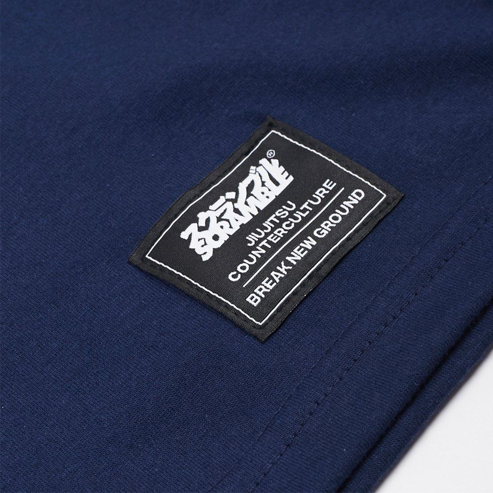 Scramble Nothing Gained Easily Tee - Navy