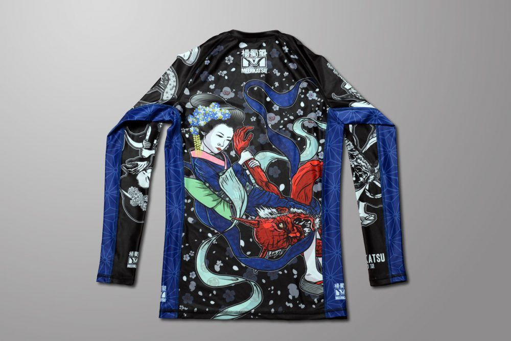 Meerkatsu Heavenly Armbar Rashguard - Ladies Cut