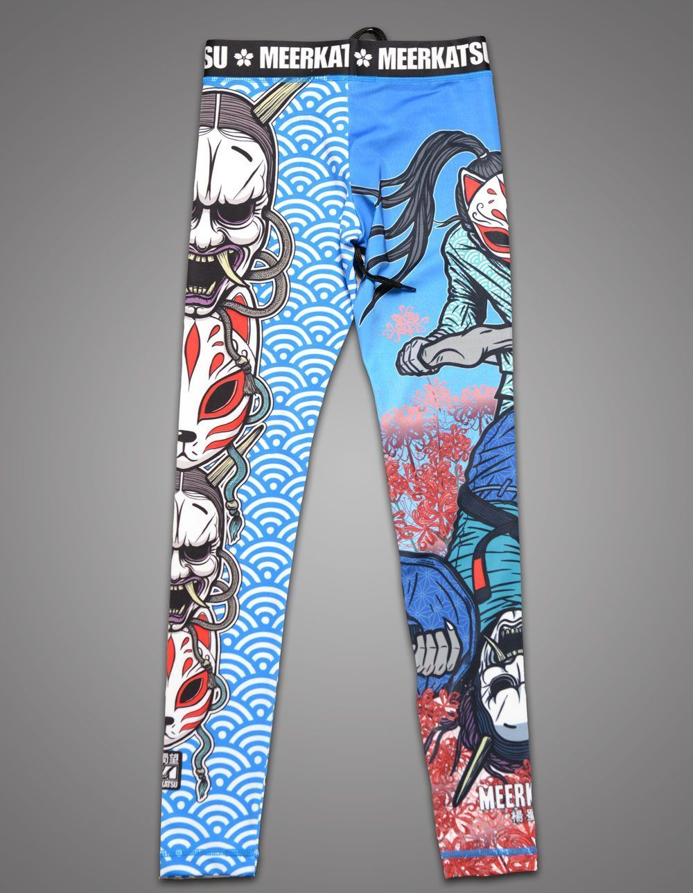 Meerkatsu Demon Mask Spats Ladies Cut