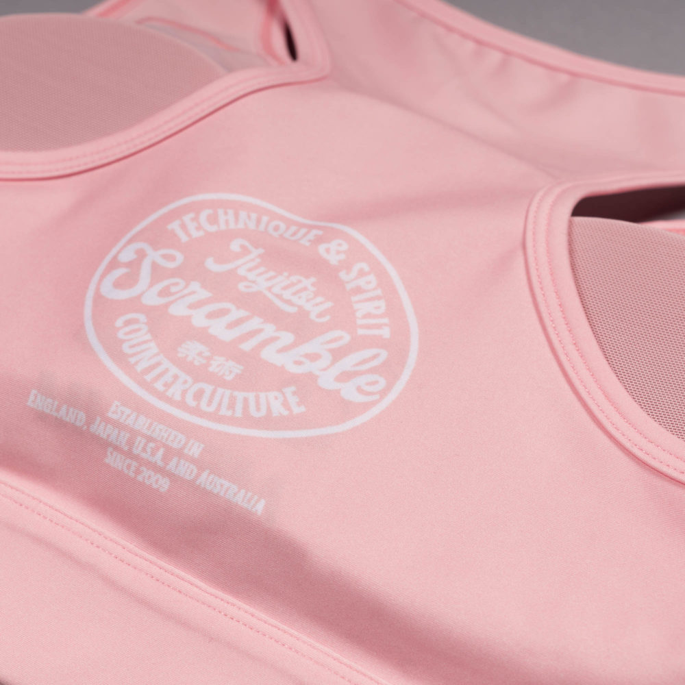 Scramble Verano Sports Bra - Pink