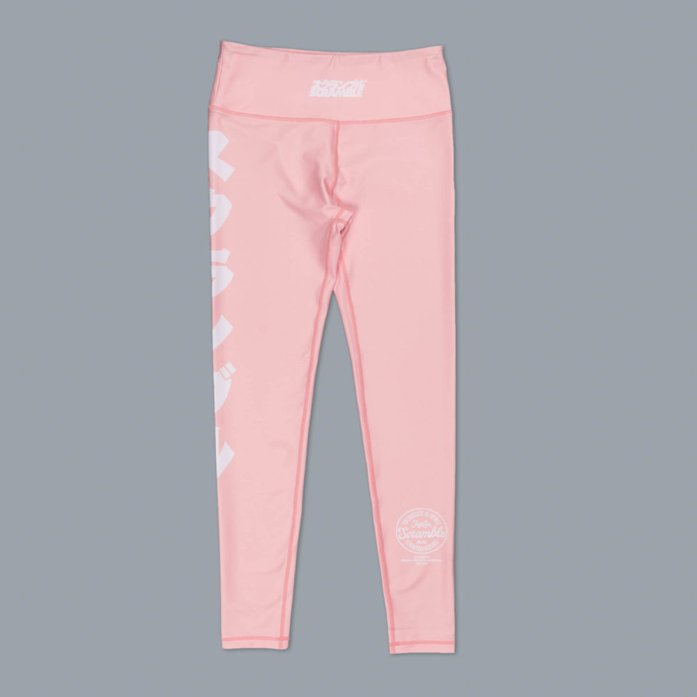Scramble Verano Sports Leggings - Pink
