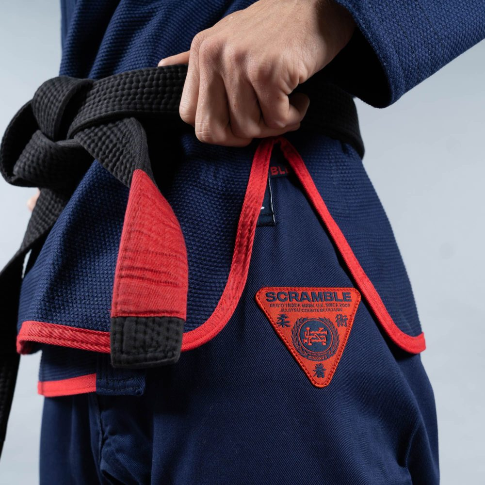 Scramble Athlete Pro Gi Female Cut - Navy