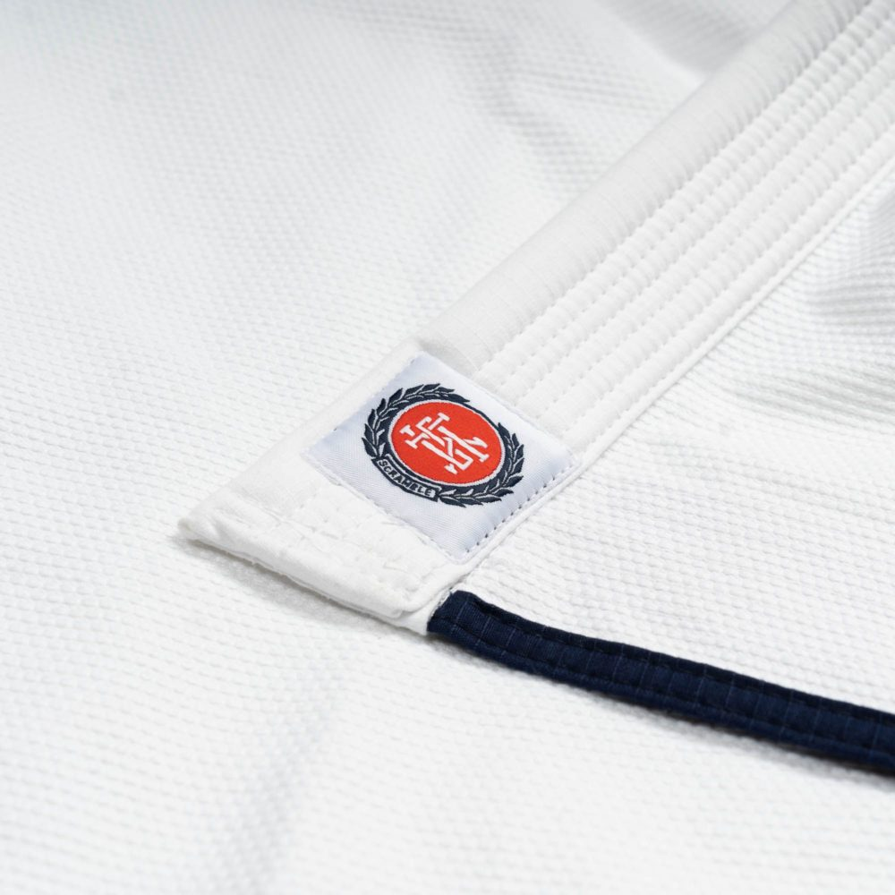 Scramble Athlete Gi Female Cut - White